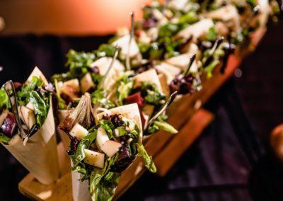appetizers_salad cones