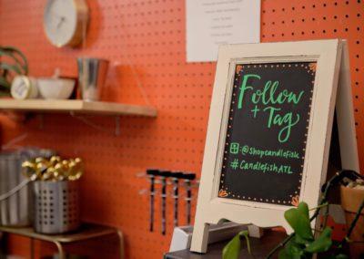 candlefish event_signage