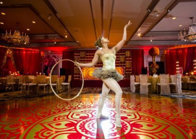 red and gold_hoop dancer