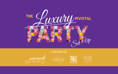 The Luxury Pivotal Party Set-up