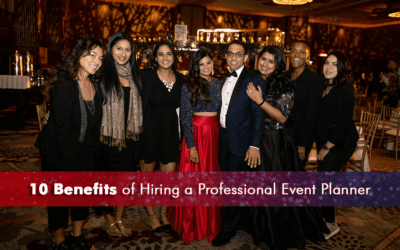 10 Benefits of Hiring a Professional Event Planner