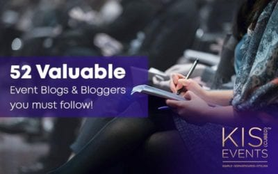 52 Valuable Event Blogs & Bloggers you must Follow